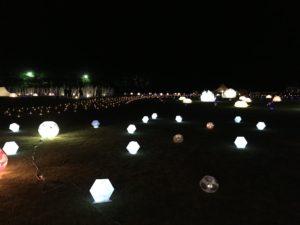 20160827 星空コンサート ライトアップ